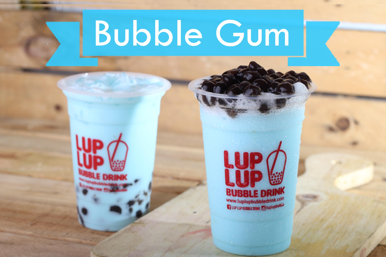 minuman bubuk bubble gum ice blend